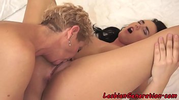 sex hourse mature Strapon woman fucking women in stockings