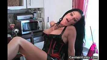 classic sexy bigtits Mistress huge stretching asshole