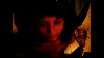 spit facial shemale Son finds tied up and s her
