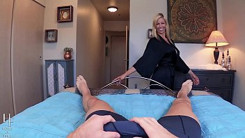 pov training cuckold Searchflashing with pizza boy