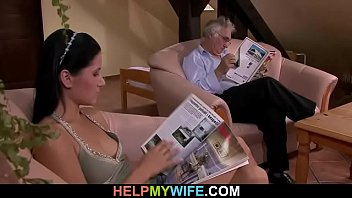 with his hubby wife woman films Twin s drink each others squirt and pee