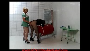 spanking english nurse by Really mean bbw raven giving a tugjob